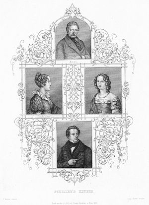 Charlotte von Lengefeld - The Schillers' four children