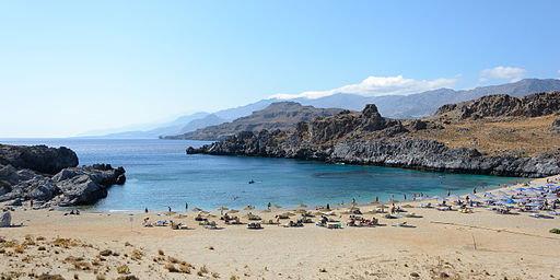 Schinaria Beach Panorama 04