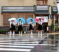 School girls in Japan crossing road.jpg