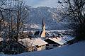 Schwangau - Gißhibl - Kirche v NW, Winterabend 01.JPG