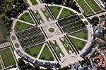 Schwetzingen Schlosspark Eingangsbereich Luftbild.JPG