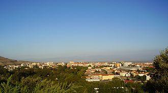 Macomer - Panorama of Macomer
