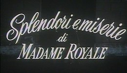 "Screenshot del film ""Splendori e miserie di Madame Royale"" (1971) .jpg"