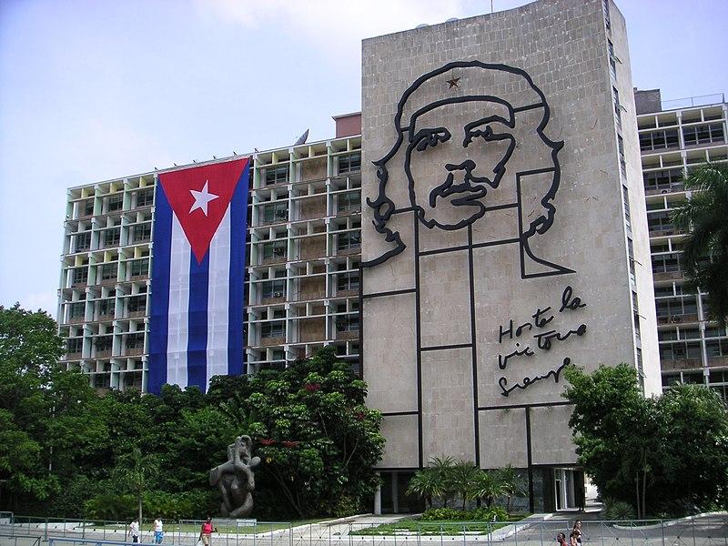 Sculpture Che Guevara in Cuba