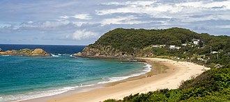 Seal Rocks, New South Wales - Seal rocks beach