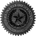 Seal of the State of Texas (1879)