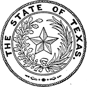 Seal of Texas - Image: Seal of Texas (1909)