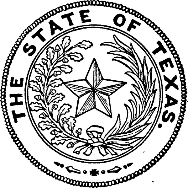 State of texas seal png