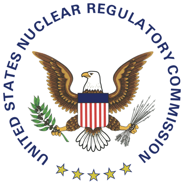 The NRC seal is used here to appropriately attribute the linked content to the NRC organization.