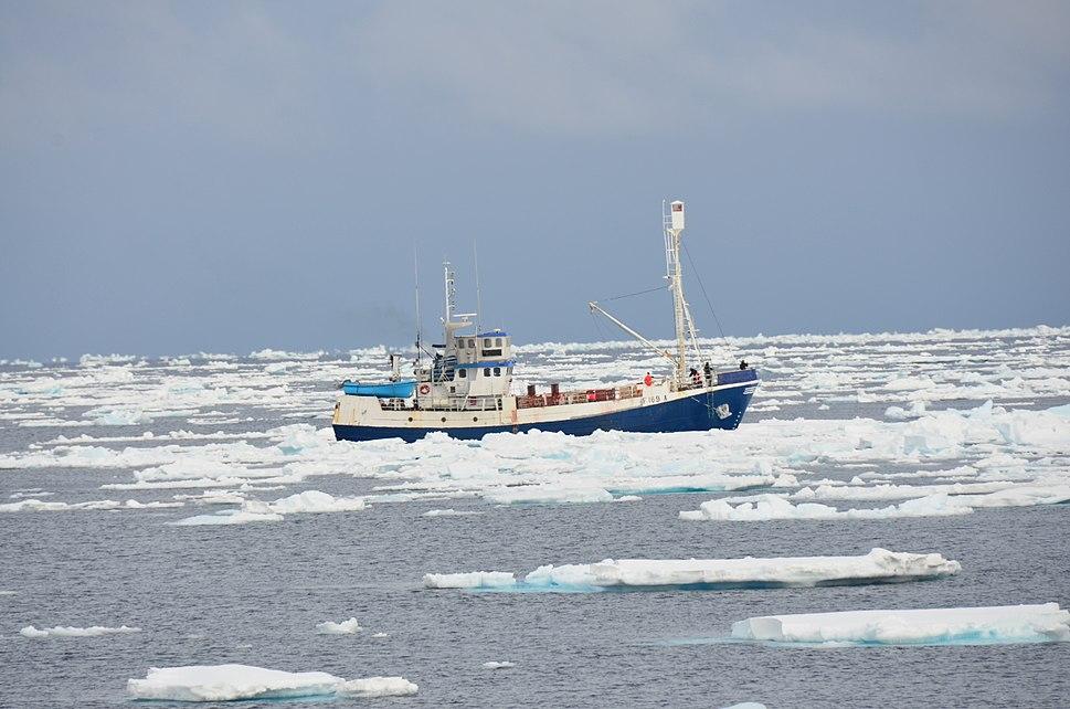 "Sealing vessel ""Havsel"""