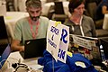 Search and discovery table at the 2017 Wikimania Hackathon.jpg