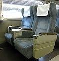 Seat of JR West 100 K58 sets Car No.6.jpg