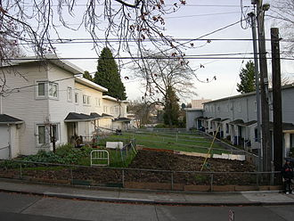 Yesler Terrace, Seattle - Typical Yesler Terrace houses