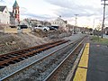 Second track construction in Andover, March 2016.JPG