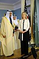 Secretary Clinton Poses With Saudi Arabian Defense Minister Salman (7072192719).jpg