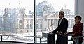 Secretary Kerry, German Chancellor Merkel Address Reporters in Shadow of Reichstag (12237001054).jpg