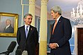 Secretary Kerry and Moldovan Prime Minister Leanca Address Reporters (12935160683).jpg