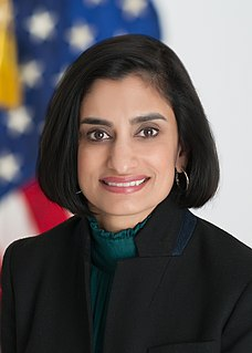 Seema Verma American health policy consultant and the current administrator of the Centers for Medicare and Medicaid Services