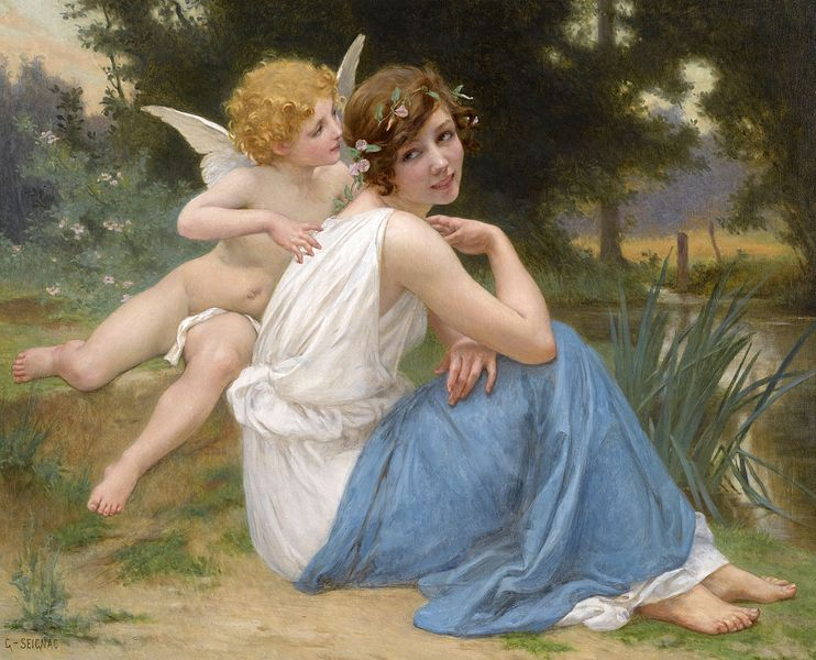 File:Seignac Guillaume Cupid and Psyche Oil On Canvas.jpg