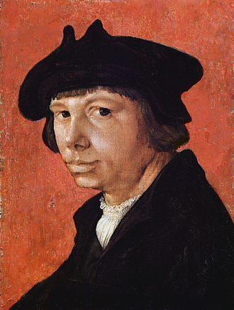 Lucas van Leyden - Self-portrait, 1525-26
