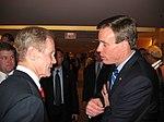 Senator Bill Nelson with Governor Mark Warner (127966601).jpg