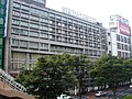 Sendai Hotel viewed from a pedway in front of Sendai station west exit.JPG