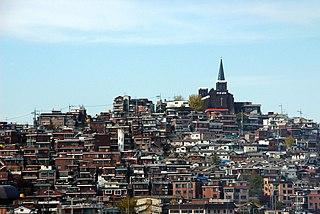 Yongsan District Autonomous District in Sudogwon, South Korea