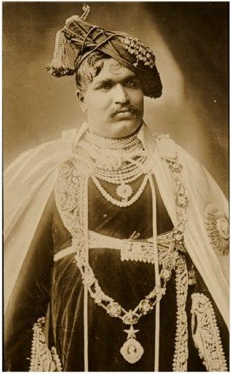 Kolhapur State - Shahu of Kolhapur (r. 1894 -1922)