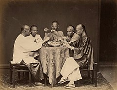 Sharing a meal by Lai Afong c1880s.jpg