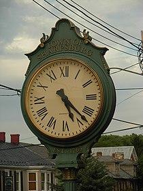 Sharpsburg clock.JPG