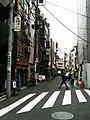 Shinbashi pub street before opening (2010-05-08 17.17.58).jpg