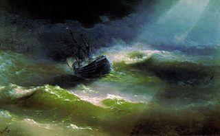 Ship «Empress Maria» in a Storm