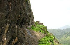 Shivneri Caves - Shivneri Caves, Junnar, India.
