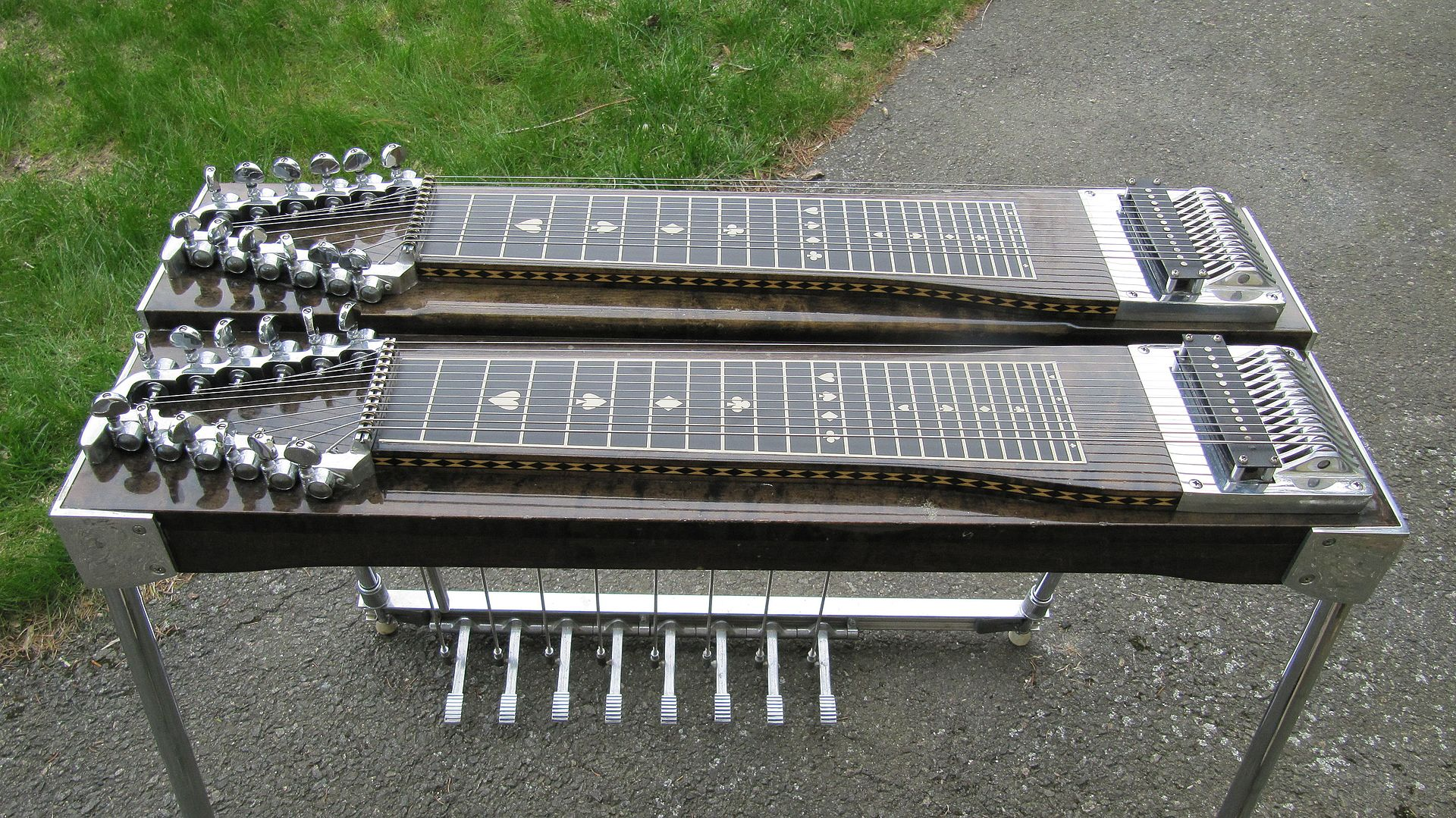 pedal steel gitarre wikipedia. Black Bedroom Furniture Sets. Home Design Ideas
