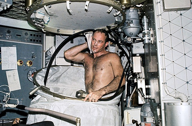 NASA Skylab shower