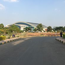 Shree Shiv Chhatrapati Sports Complex - 220px Shree Shiv Chhatrapati Sports Complex badminton arena - Shree Shiv Chhatrapati Sports Complex