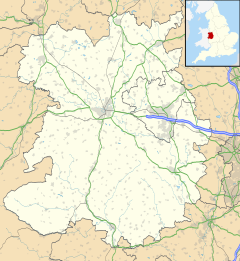 Wellington is located in Shropshire