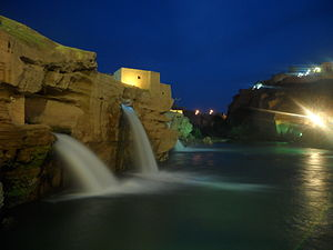 Shushtar abshar night.JPG