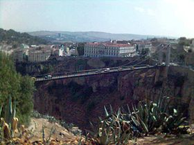 Passerelle Sidi-M'Cid sur le Rhummel.