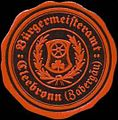 Siegelmarke Bürgermeisteramt Cleebronn-Zabergäu W0329173.jpg
