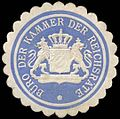 Siegelmarke Büro der Kammer der Reichsräte-München W0296846.jpg