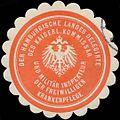 Siegelmarke Der Hamburgische Landes Delegirte W0355942.jpg