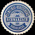 Siegelmarke Gemeinde-Vorstehung Schwarzach - Vorarlberg W0261576.jpg