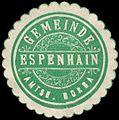 Siegelmarke Gemeinde Espenhain - Amtshauptmannschaft Borna W0261970.jpg