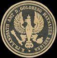 Siegelmarke K.Pr. Landrath Amt des Goldberg Haynauer Kreises W0391113.jpg