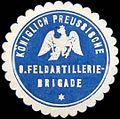 Siegelmarke K. Pr. 8. Feldartilleriebrigade W0285625.jpg