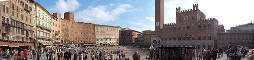 La Fondazione MPS ha sede nel Palazzo Sansedoni.