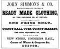 Simmons BostonDirectory 1850.png