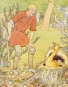 Simpleton finds The Golden Goose - Project Gutenberg eText 15661.jpg