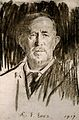 Sir Norman Moore. Chalk drawing by R. G. Eves, 1917. Wellcome V0006564.jpg